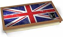 KICO Union Jack Flag UK United Kingdom Cushioned