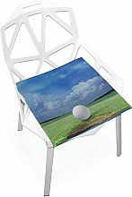 Kid Chair Cushion Funny Sport Outdoors Golf Course