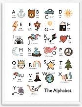 Kid of the Village - 'Alphabet' Wood