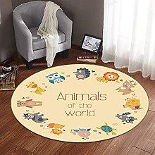 Kid Play Round Mat Kid Space Round Rug Child