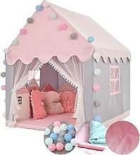 Kid Tent Pink Play Tent for Girls, Indoor Princess
