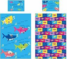 KidCollection Shark Family Single/Junior Duvet