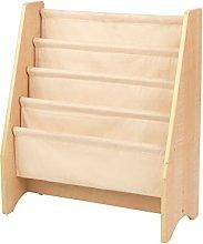 KidKraft 14221 Kids Sling Wooden Bookshelf,