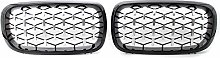 Kidney Grill, for BMW X5 F15 2014-2016 car styling