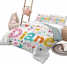 Kids' Quilt Set Twin Size Diane Comfy Bedding
