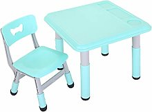 Kids Activity Table Set 1-8 Years Home Plastic