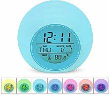 Kids Alarm Clock - Desk Bedside Digital Clock for
