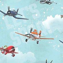 Kids at Home Planes 10m x 53cm Matte Wallpaper