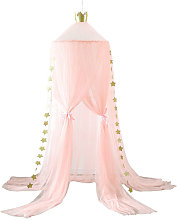 Kids Baby Girls Bed Canopy Mosquito Bedcover