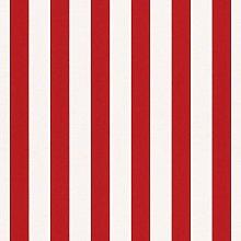 Kids Bambino Narrow Stripe Wallpaper - Red And