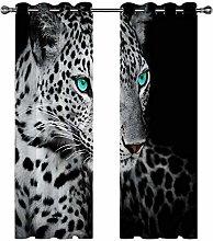 Kids Blackout Curtains Cheetah animal Thermal
