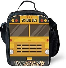 Kids Boys Packed Lunch Bags Lunchbox Cooler Bags