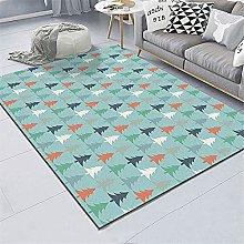 kids carpets for home Living room rug blue cartoon