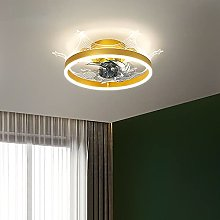 Kids CeilingFanswithLights and Remote Modern
