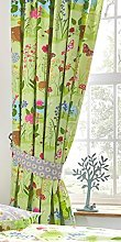 Kids Club Bluebell Woods Lined Curtains Pencil