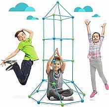 Kids Construction Fort Building Kit,DIY Castle