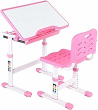 Kids Desk and Chair Set,Height Adjustable Children