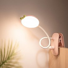 Kids Desk Clip lamp,Clip on Light for Bed Battery