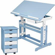 Kids desk + filing cabinet - childrens desk, kids