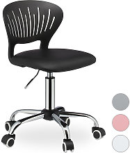 Kids Desk Swivel Chair, Adjustable Height,