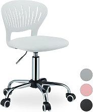 Kids Desk Swivel Chair, Adjustable Height,