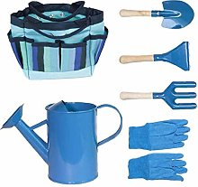 Kids Gardening Tool Set with Gloves Shovel Rake