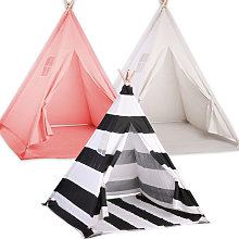 kids Girl Teepee Play Tents Children Gaming Play