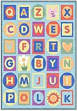 Kids Large Rug Nursery Crawling Carpets Learning