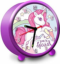 Kids Licensing   Unicorn Alarm Clock   9 cm  