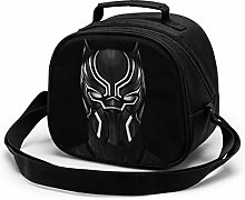 Kids Lunch Bag, Black Panther Reusable Lunch Tote