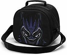 Kids Lunch Bag, Cool Black Panther Reusable Lunch