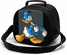 Kids Lunch Bag, Cool Donald Duck Reusable Lunch