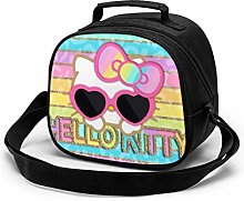 Kids Lunch Bag, Cool Hello Kitty Reusable Lunch