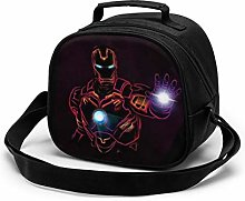 Kids Lunch Bag, Cool Iron Man Reusable Lunch Tote