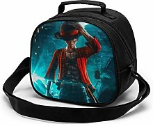 Kids Lunch Bag, Cool Luffy Reusable Lunch Tote Box