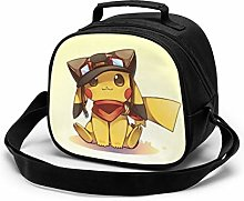 Kids Lunch Bag, Cool Pikachu Reusable Lunch Tote