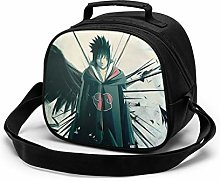 Kids Lunch Bag, Cool Sasuke Uchiha Reusable Lunch