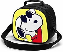 Kids Lunch Bag, Cool Snoopy Reusable Lunch Tote
