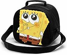 Kids Lunch Bag, Cool Spongebob Reusable Lunch Tote