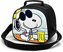 Kids Lunch Bag, Cool Summer Snoopy Reusable Lunch