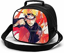 Kids Lunch Bag, Cool Uzumaki Naruto Reusable Lunch