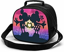 Kids Lunch Bag, Lovely Mickey Mouse Reusable Lunch