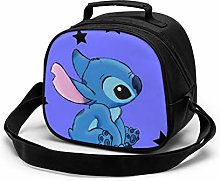 Kids Lunch Bag, Stitch with Stars Reusable Lunch