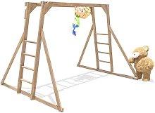Kids Monkey Bars Pressure Treated Childrens Wooden