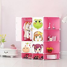 Kids New Wardrobe Childrens Storage Cabinet Boxes
