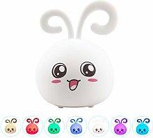 Kids Night Light Cute USB Rechargeable Animal
