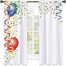Kids Party Wear resistant color curtain, Childrens