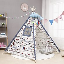 Kids Play Tent 110*110*135cm Indoor Outdoor