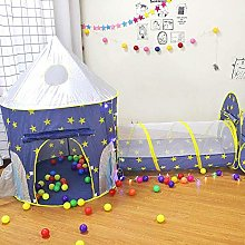 Kids Play Tent 3 in 1 Playground Toddlers Castle