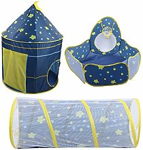Kids Play Tent, 3 in 1 Pop Up Tent Toddlers Crawl